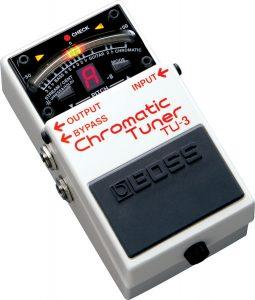 accordatore per chitarra elettrica